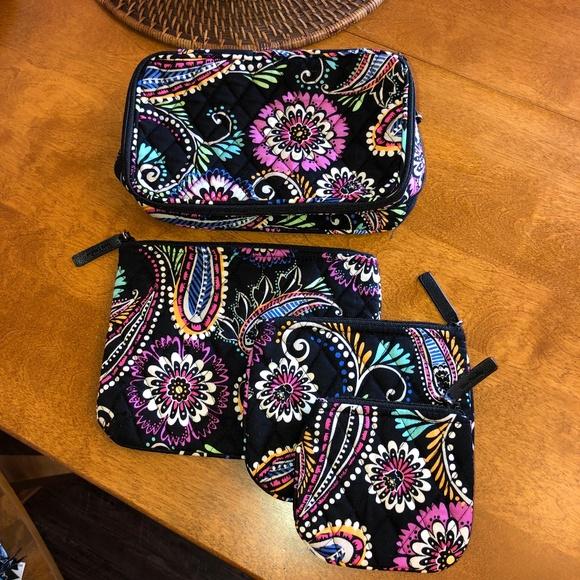 Vera Bradley Handbags - Vera Bradley Cosmetic Makeup Cases Lot